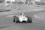 69221 - Wayne Ford, Cooper Holden - 4th May 1969  Sandown  - Photographer Peter D'Abbs