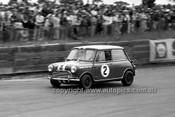65120 - Peter Manton, Left Hand Drive Morris Cooper S  - Catalina Park Katoomba 1965- Photographer Bruce Wells
