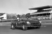 701021 - Graham Wall, MGB -  Warwick Farm 12th July 1970 - Photographer Lance J Ruting