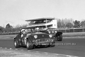 701022 - Bruce Tompson, Triumph TR3a -  Warwick Farm 12th July 1970 - Photographer Lance J Ruting