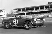 701028 - Barry Bassingthwaighte, MG Midget -  Warwick Farm 12th July 1970 - Photographer Lance J Ruting