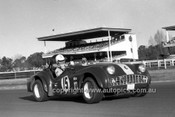 701034 - Bob Kennedy, Triumph TR3a -  Warwick Farm 12th July 1970 - Photographer Lance J Ruting