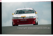 98875 - MIKE FITZGERALD / JENNI THOMPSON, PEUGEOT 405 - AMP 1000 Bathurst 1998 - Photographer Marshall Cass