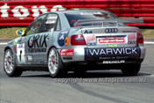 98839 - BRAD JONES / CAMERON McCONVILLE, AUDI A4 - AMP 1000 Bathurst 1998 - Photographer Marshall Cass