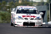 98837 - STEVEN RICHARDS / MATTHEW NEAL, NISSAN PRIMERA - AMP 1000 Bathurst 1998 - Photographer Marshall Cass