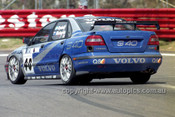 98836 - JIM RICHARDS / RICKARD RYDELL, VOLVO S40 - AMP 1000 Bathurst 1998 - Photographer Marshall Cass