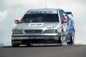 98834 - JIM RICHARDS / RICKARD RYDELL, VOLVO S40 - AMP 1000 Bathurst 1998 - Photographer Marshall Cass