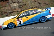 97809 - Alain Menu & Jason Plato, Renault Laguna - AMP Bathurst 1000 1997 - Photographer Marshall Cass
