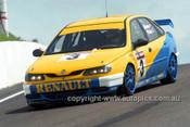 97808 - Alain Menu & Jason Plato, Renault Laguna - AMP Bathurst 1000 1997 - Photographer Marshall Cass