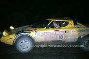 76096 - Ron Marks, Lancia Stratos - Warrana Rally 1976 - Photographer Martin Domeracki