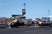 76091 - Holden Precision Driving Team - Surfers Paradise 1976 - Photographer Martin Domeracki