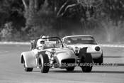 72383 -  Bill Nibbs, Lotus 7 Ford  - Warwick Farm  1972 - Photographer Lance J Ruting