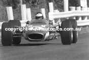 Jim Clark  -  Lotus 49 Ford V8  Sandown  1968 - Photographer David Blanch