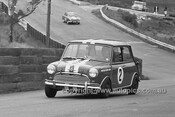 65122 - Peter Manton, Left Hand Drive Morris Cooper S  - Catalina Park Katoomba 1965 - Photographer Bruce Wells