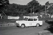 60024 - P. Coffey, Ford Anglia - Hepburn Springs 1960 - Photographer Peter D'Abbs