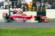 98505 - Heinz-Harald Frentzen  Williams-Mecachrome - 3rd Place AGP Melbourne 1998 - Photographer Marshall Cass