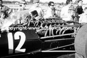 R. Attwood  -  BRM V12 - Sandown Tasman Series 1968 - Photographer David Blanch