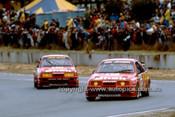 89047 - Dick Johnson & John Bowe, Sierra RS500 1989 Wanneroo - Photographer Ray Simpson