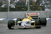 86531 - Nelson Piquet  Williams-Honda - 2nd Place AGP Adelaide 1986 - Photographer Ray Simpson