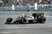 86529 - Ayton Senna Lotus 97T - AGP Adelaide 1986 - Photographer Ray Simpson