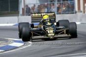 86527 - Ayton Senna Lotus 97T - AGP Adelaide 1986 - Photographer Ray Simpson