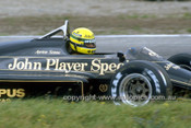86525 - Ayton Senna Lotus 97T - AGP Adelaide 1986 - Photographer Ray Simpson