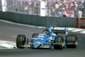85516 - Jacques Laffite  Ligier-Renault - 2nd Place AGP Adelaide 1985 - Photographer Ray Simpson