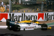 85515 - Keke Rosberg  Williams-Honda - Winner of the AGP Adelaide 1985 - Photographer Ray Simpson