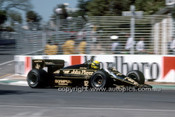 85513 - Ayton Senna Lotus 97T - AGP Adelaide 1985 - Photographer Ray Simpson