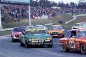 76104 - Christine Gibson, Alfa Romeo / Moore & Johnson, Ford Capri - Sandown 1976 - Photographer Peter D'Abbs