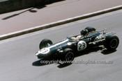 67614 -  Dan Gurney  Eagle-Weslake - Monaco Grand Prix 1967 - Photographer Adrien Schagen