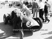 60522 - Lex Davison, Aston Martin DBR4/300- Australian Grand Prix, Lowood 1960