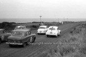 59529 - G. Fuyers, Austin A95 - Phillip Island 1959 - Photographer Peter D'Abbs