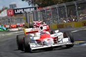 208747 - Ryan Briscoe, Dallara IR5-Honda, Gold Coast Indy 2008 - Photographer Marshall Cass
