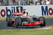 208501 -  Lewis Hamilton  McLaren-Mercedes - Winner of the AGP 2008 - Photographer Marshall Cass