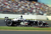 201243 - David Coulthard  McLaren-Mercedes - 2nd Place AGP Melbourne 2001  - Photographer Marshall Cass