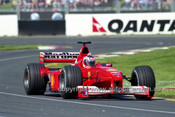 200507 -  Rubens Barrichello  Ferrari - 2nd Place Australian Grand Prix, Melbourne 2000 - Photographer Marshall Cass