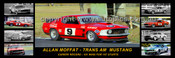 327 - Allan Moffat, Trans-Am Mustang - A Panoramic Photo 30x10inches.