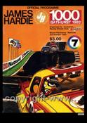 719 - Bathurst Programme 1982