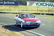 91030 - Mark Skaife  Nissan GTR  - Lakeside  1991 - Photographer Marshall Cass