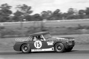 69329 - Laurie Stewart, MG Midget - Warwick Farm 1969 - Photographer Lance J Ruting.