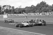 69330 - J. Mellan, Brabham Ford & P. West, Elfin 600 Alfa - Warwick Farm 1969 - Photographer Lance J Ruting.