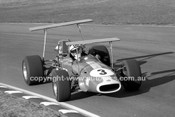 69334 - John Harvey, Brabham Repco V8 - Warwick Farm 1969 - Photographer Lance J Ruting.