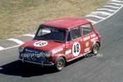 78076 - Frank Dartell, Morris Cooper S - Amaroo Park 1978 - Photographer Lance J Ruting