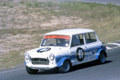 78077 - Peter Crocker, Morris Mini - Amaroo Park 1978 - Photographer Lance J Ruting