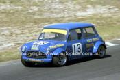 78079 - Peter Reece, Morris Mini - Amaroo Park 1978 - Photographer Lance J Ruting
