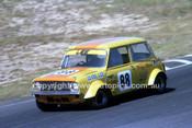 78081 - Clyde Lee, Morris Mini - Amaroo Park 1978 - Photographer Lance J Ruting