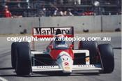 A. Prost - McLaren  -   AGP - Adelaide 1989