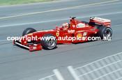 Eddie Irvine  -  Frerrari - Melbourne AGP 1999