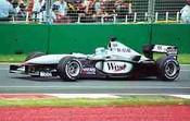 Mika Hakkinen   -  McLaren - Melbourne Grand Prix 2001
